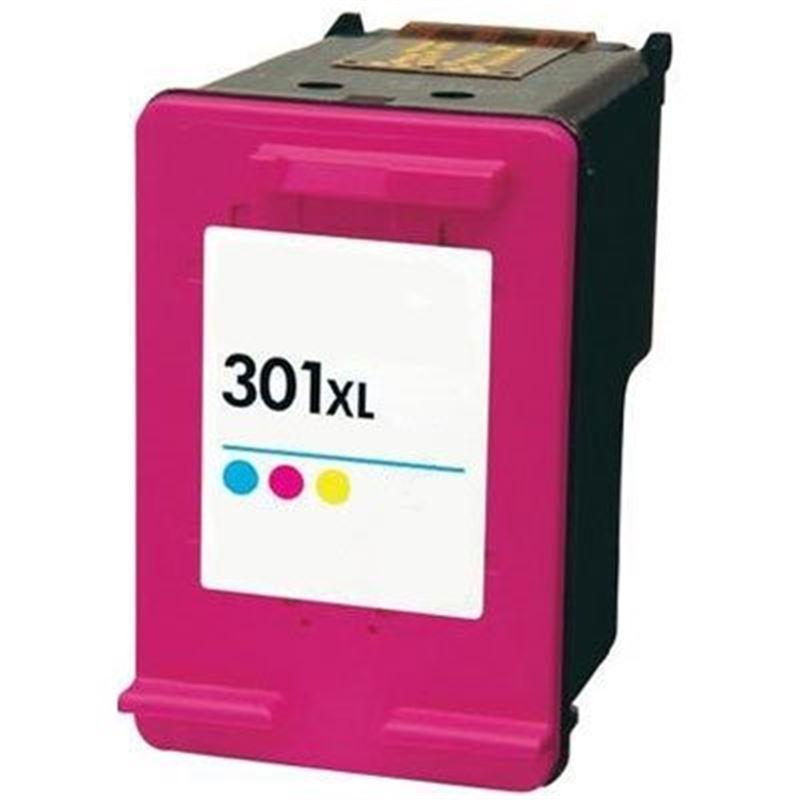 Cartucho de tinta compatible HP 301XL color - cartucho-tinta-hp-301xl-color-compatible