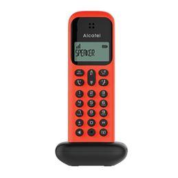 Alcatel D285 teléfono inalámbrico rojo/negro - alcatel-telefono-dec-d285-rojo-negro_1