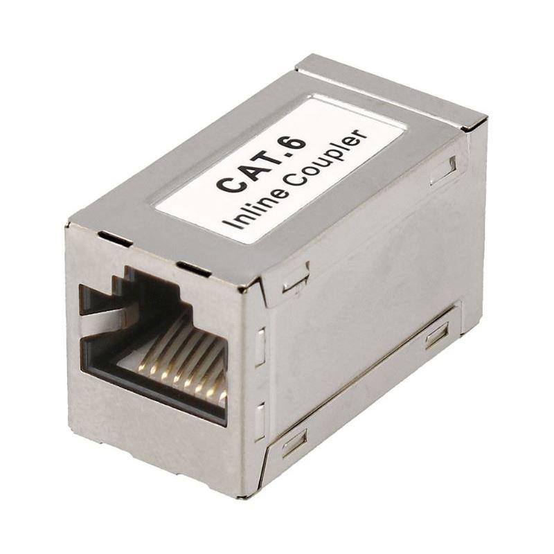 CON929 Empalme Inline Coupler RJ45 c6 hembra-hembr - NIMO CON929