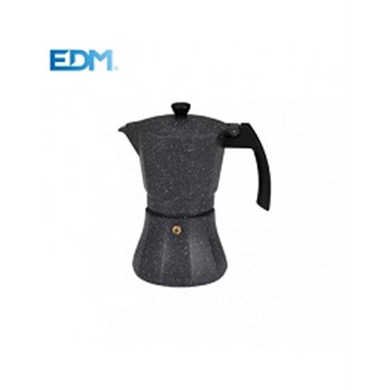Edm 76137 Cafetera aluminio inducción 9 Tazas - Edm 76137 Cafetera aluminio inducción 9 Tazas_1