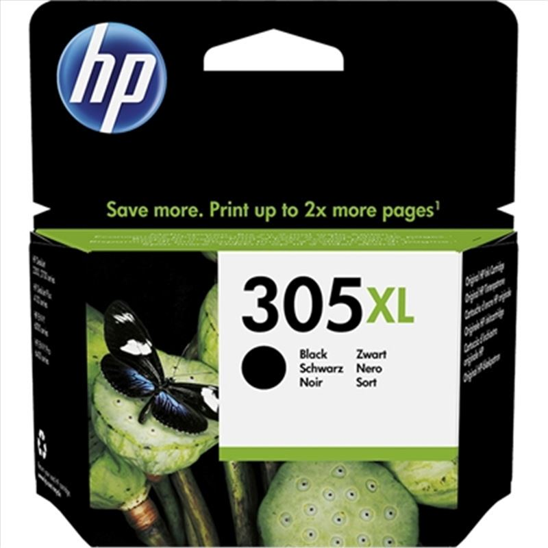 Cartucho de tinta HP 305XL negro original - cartucho-tinta-hp-305xl-negro-original