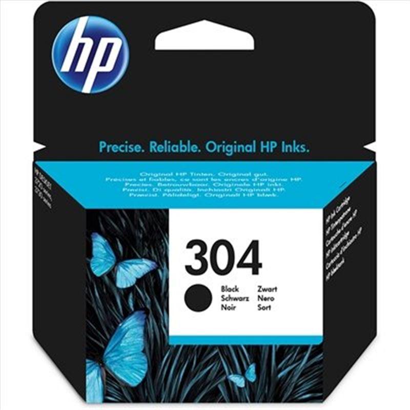 Cartucho tinta original HP 304 Negra - cartucho-tinta-hp-304-negro-original