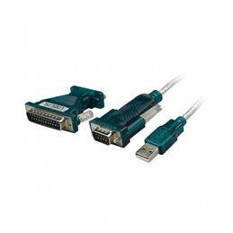 Logilink UA0042A Adaptador M-M USB-A/RS232 - Logilink UA0042A Adaptador USB-RS232