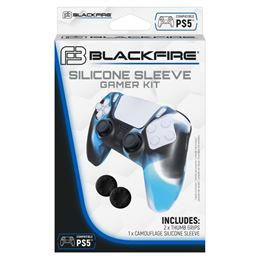 Blackfire Funda silicona mando consola Ps5 - Blackfire Funda silicona consola Ps5