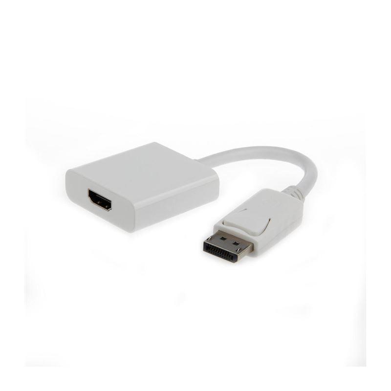 Gembird A-DPM-HDMIF-002-W Adap. Display port/Hdmi - gembird-adaptador-displayport-a-hdmi-mh-010m-blanco-a-dpm-hdmif-002-w