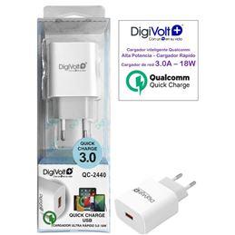 Digivolt QC-2440 Cargador rápido usb 3.0 - DIGQC2440G