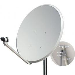 Antena parabolica Offset 80cms. MT.OSM - TECATEL K80C20 ANTENA OFFSET 80CM