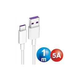 Digivolt CB-8261 Cable USB a USB-C 1,00m. 5A. - conexion-tipo-c-macho-a-usb-macho-1m-5a-cb-8261
