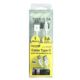 Digivolt CB-8261 Cable Usb a Usb-a tipo C 1,00m 5A - digivolt cb8261