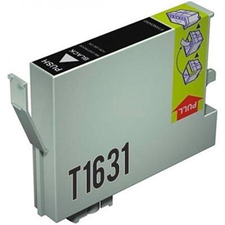 Cartucho de tinta compatible Epson T1631 negro - cartucho-tinta-epson-t1631-16xl-negro-compatible