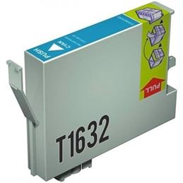Cartucho de tinta compatible Epson T1632 cian - cartucho-tinta-epson-t1632-16xl-cian-compatible