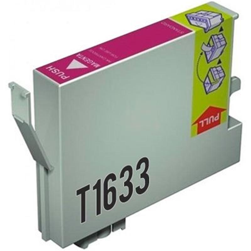 Cartucho de tinta compatible Epson T1633 magenta - cartucho-tinta-epson-t1633-16xl-magenta-compatible