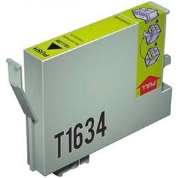Cartucho tinta compatible Epson T1634XL amarillo - cartucho-tinta-epson-t1634-16xl-amarillo-compatible