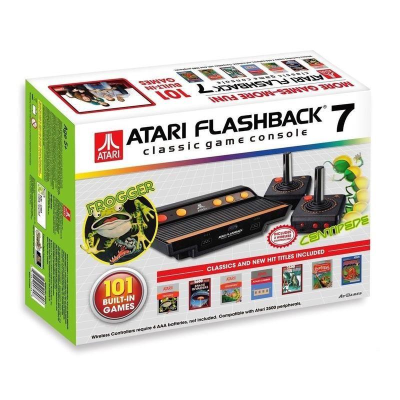 Atari FLASHBACK-7 Consola retro 101 juegos - ATARI FLASHBACK-7 RETRO (101 J.)
