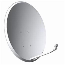 Antena parabólica Offset 80x71cm. (TECA K80A6) - K80A6