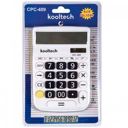 Kooltech CPC-409 Calculadora solar 10 digitos - calculadora-kooltech-cpc-409