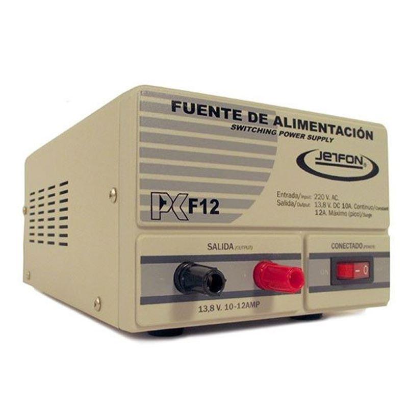 Jetfon PC-F12 Fuente alimentación conmutada 10-12A - jetfon-pc-f12-fuente-conmutada
