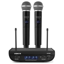 Vonyx WM82 Micrófono UHF 2-CH 2 micros de mano - 179212_set
