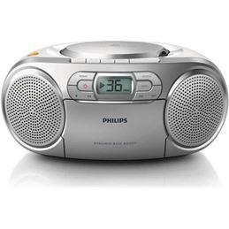 Philips AZ127 Radio casette CD portátil - philips-az127-12
