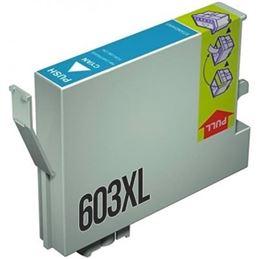 Cartucho de tinta compatible Epson 603 amarillo - cartucho-tinta-epson-603xl-cian-compatible