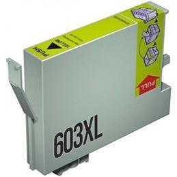 Cartucho tinta compatible Epson 603 Amarillo - cartucho-tinta-epson-603xl-amarillo-compatible