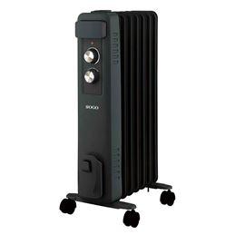 Sogo SS-18455 Radiador Aceite 7E 1500W negro - Sogo SS-18455 Radiador Aceite  7E 1500W negro