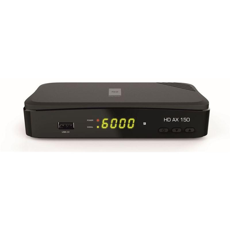 Opticum HD AX 150 Receptor satélite FTA con PVR - OPTICUM-HD-AX-150-FRONT