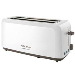 Taurus MY TOAST Tostador doble ranura 1450W blanco - Taurus MY TOAST Tostador 2 ranuras 1450W blanco