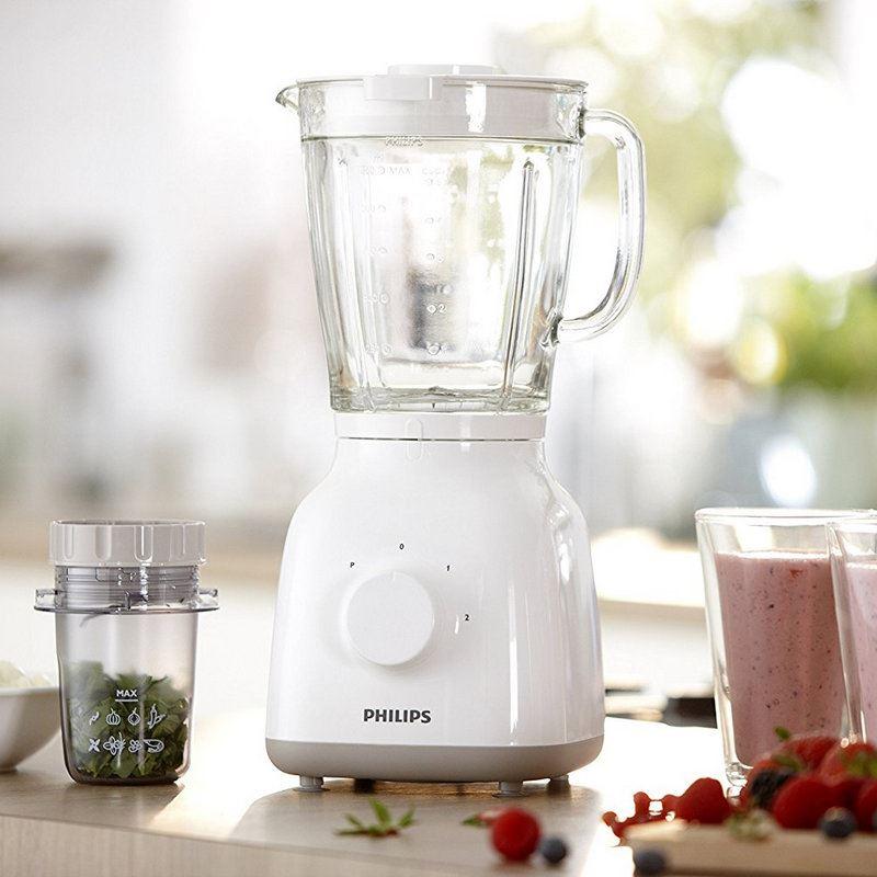 Philips HR-2105 Batidora vaso 1,50L. 400W. - Philips HR-2105 Batidora vaso 1,50L. 400W.