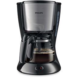 Philips HD-7435 Cafetera Goteo 700W 6 Tazas - Philips HD-7435 Cafetera Goteo Metal negro