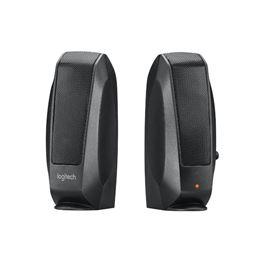 Logitech S120 Altavoces Multimedia negro - Logitech S-120 Altavoz Multimedia negro