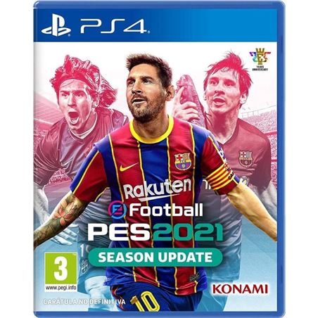 Pro Evolution Soccer 2021- Juego PS4 - pes-efootball-2021-ps4
