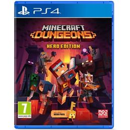 Minecraft: Dungeons Hero Edition - Juego PS4 - PS4 MINECRAFT DUNGEONS HERO EDITION