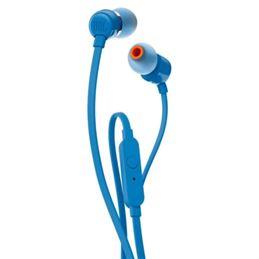 JBL Tune 110 Auricular estéreo con micro azul - JBL TUNE 110 AZUL