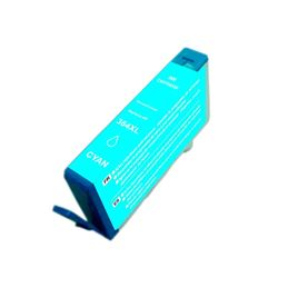 Cartucho tinta compatible Hp 364XL cian - Cartucho tinta compatible Hp 364XL cyan