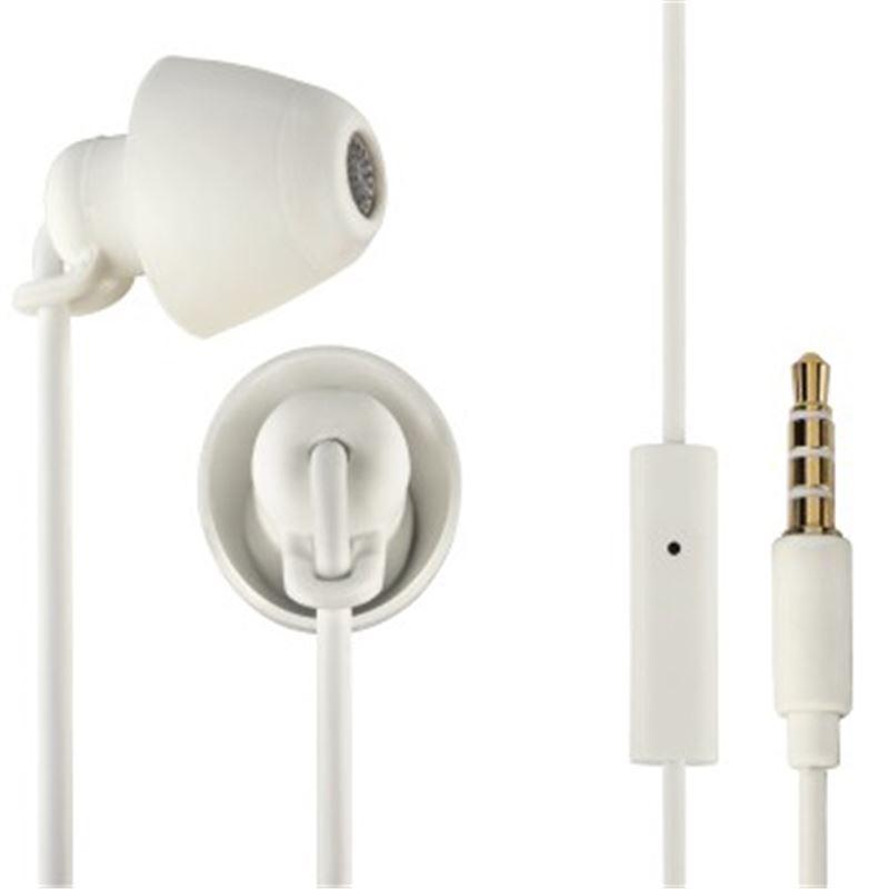 Thomson EAR-3008 Auricular estereo c/micro. blanco - THOMSON EAR-3008 (00132633)