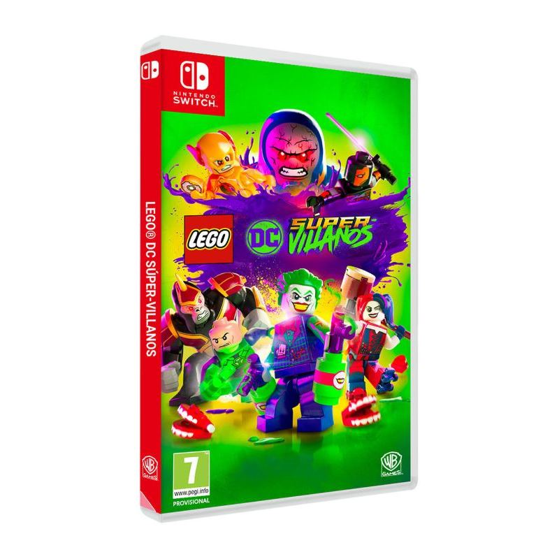 Lego DC Super-Villanos - Juego Switch - SWITCH LEGO CD SUPER-VILLANOS