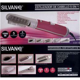 Silvano RZP-193 Estilizador de pelo 5 en 1 1000W. - SILVANO RZP-193