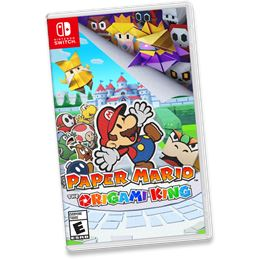 Paper Mario: The Origami King - Juego Switch - SWITCH PAPER MARIO THE ORIGAMI KING