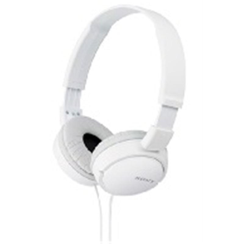 Sony MDR-ZX110AP Auricular estéreo c/micro. blanco - Sony MDR-ZX110AP Auricular estéreo con micro. blanco_1
