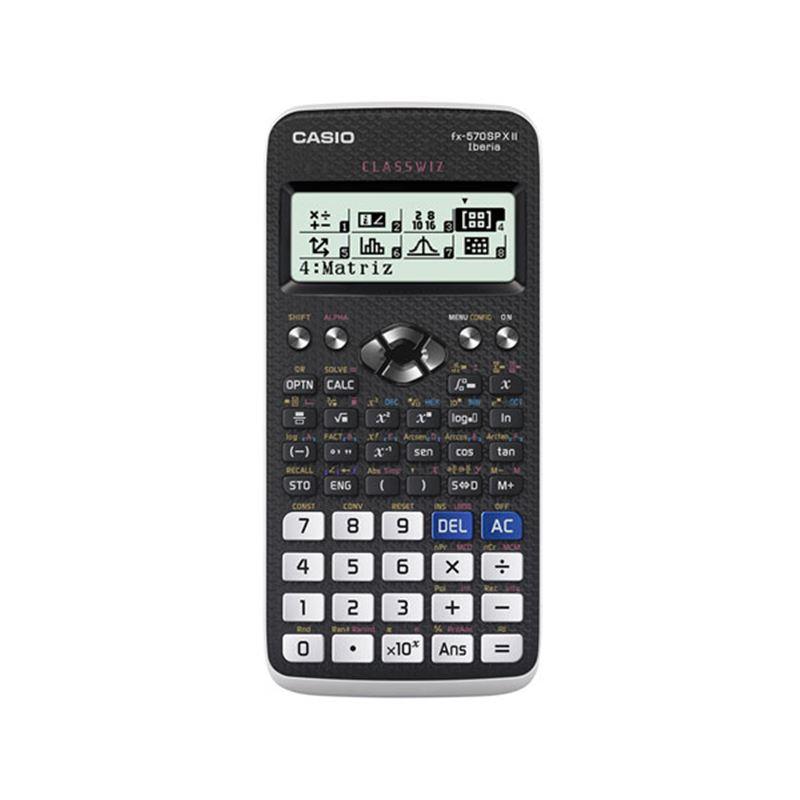 Casio FX-570SP X II Calculadora cientifica 576 fun - CASIO FX-570SPX-S-EH