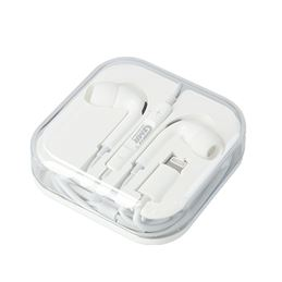 GMR EA6016 Auricular Ligthning mic. goms blanco - GMR EA6016 Auricular Ligthning con micro goms blanco