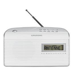 Grundig MUSIC 61 Radio Digital FM AC-DC blanco - Grundig MUSIC BOY-61 Radio AM-FM blanca
