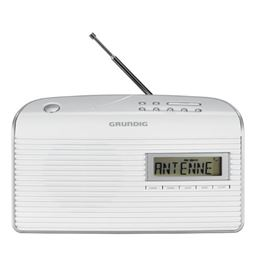 Grundig MUSIC BOY-61 Radio Digital FM AC-DC blanca - Grundig MUSIC BOY-61 Radio AM-FM blanca