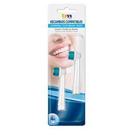 TM TMBH112 Recambio Cepillo Dental Oral (Blis-2) - TMBH112-1