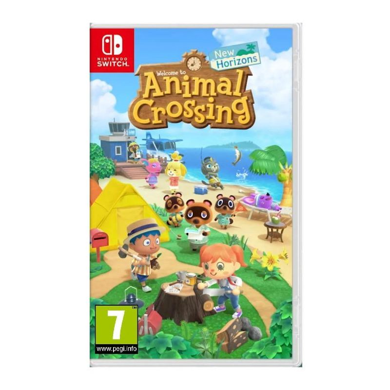 Animal Crossing: New Horizons Juego Switch - SWITCH ANIMAL CROSSING NEW HORIZONS