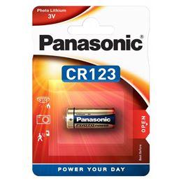 Panasonic CR123 Pila Lítio 3V - Panasonic CR-123 Pila Litio 3V