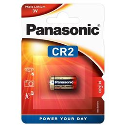 Panasonic CR2 Pila de lítio 3V - Panasonic_CR2