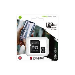 Kingston Tarjeta Micro SD 128GB CANVAS Select Plus - SDCS2-128GB