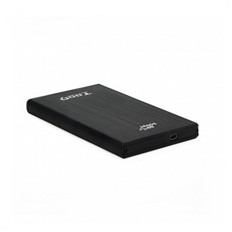 """Tooq TQE-2522B Caja externa 2.5"""" USB3.0 sata, alum - caja-externa-2.5-usb3.0-sata-tooq-aluminio-negra"""